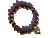 Image of Freya Bracelet {dark brown}