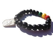 Image of Leonidas Bracelet or Set {black}
