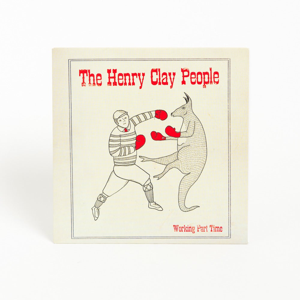 Image of The Henry Clay People - &quot;Working Part Time&quot; 7 Inch Vinyl Single