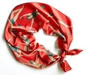 Image of Circus Gymnast Scarf in Red or Grey