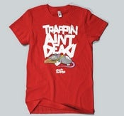 Image of Trappin Ain't Dead Tee in Red