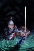 Image of Knight of Swords: Original Art