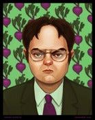 Image of Dwight Schrute (with Beets!)