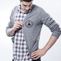 Image of CDX PYRAMID cardigan sweater guys