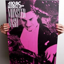 Image of 410BC MONSTER MASH POSTER