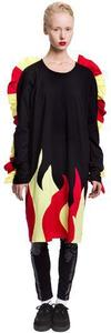 Image of Daniel Palillo FLAMES DRESS