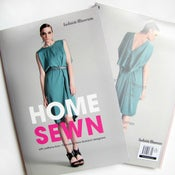 Image of Home Sewn Pattern Book with 10 leading New Zealand designers