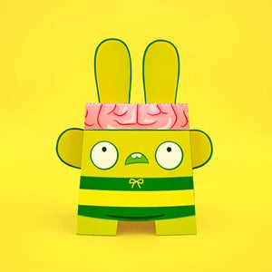 Image of Billy Brains (paper toy)