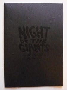 Image of Night of the Giants (Giant Fighters Round 2)- Mini Comic