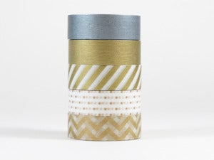 Image of Metallic Washi Tape