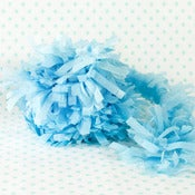 Image of Light Blue Party Fringe