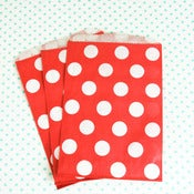 Image of Red Dot Treat Bag