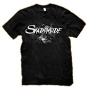 Image of Shadowside - Black and White T-shirt