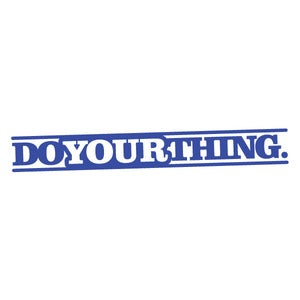 Image of Do Your Thing Vinyl Decal