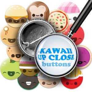 Image of Kawaii UP CLOSE Buttons