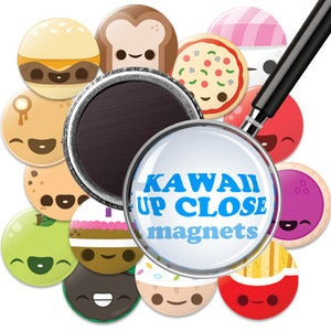 Image of Kawaii UP CLOSE Magnets