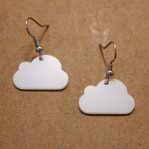 Image of Cloud Earrings