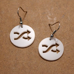 Image of Shuffle Earrings