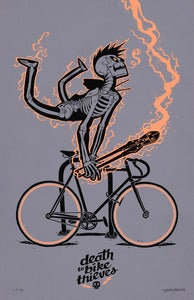 Image of ***NEW!***<BR>DEATH TO BIKE THIEVES VARIANT
