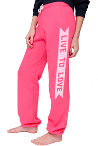 Image of Hot Pink Classic Sweatpants