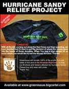 Image of &quot;Down But Not Out&quot; Hurricane Sandy Benefit Tee
