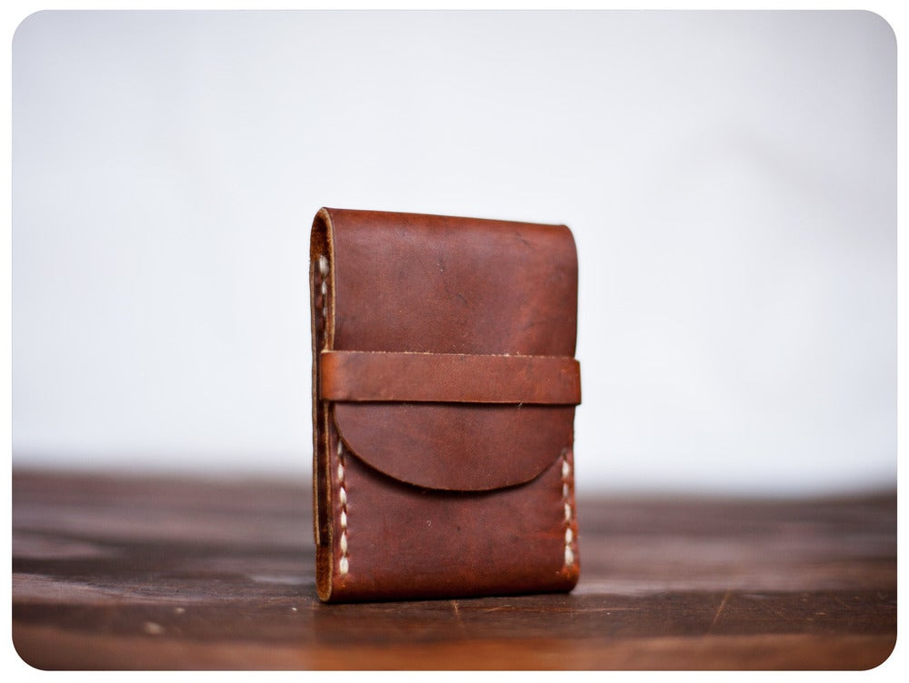 Image of FisherMan's Wallet - RoughMan Brown