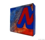 Image of Mr Benja - Power Letter 'N', Red vs Blue