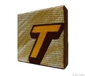 Image of Mr Benja - Power Letter 'T' Gold