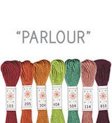 Image of Sublime Stitching&amp;#x27;s 6 pack of Embroidery Floss - Parlour