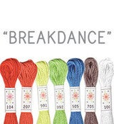 Image of Sublime Stitching's 6 pack of Embroidery Floss - Breakdance