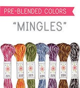 Image of Sublime Stitching's 6 pack of Embroidery Floss - Mingles