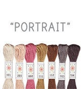 Image of Sublime Stitching's 6 pack of Embroidery Floss - Portrait
