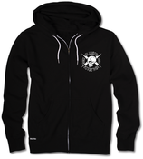 "Image of ""SKULLY CREW"" Zip Hood 