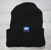 Image of FTL Elephant Beanie-Black