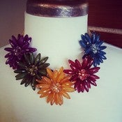 Image of Small Floral Necklace Set