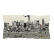 Image of new york calling cushion