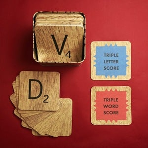Image of Scrabble Coasters