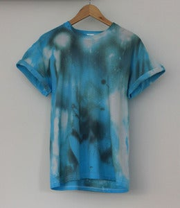Image of Blue Galaxy Tie Dye Tee