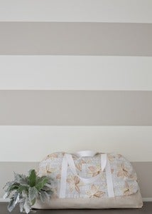 Image of Duffle: Peach Lilies