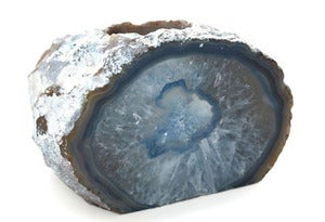 Image of Blue Agate Stone Candle Holder