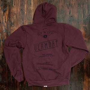 Image of The Trees Are Sweet Hoody - Vino