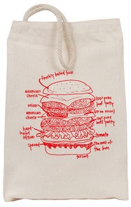 Image of Best Burger Ever Reusable Lunch bag