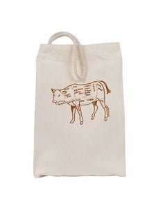 Image of Cow Butcher's Diagram Lunch bag
