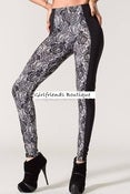 Image of High Waisted Lace Leggings