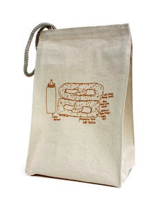 Image of Philly Soft Pretzel Lunch bag