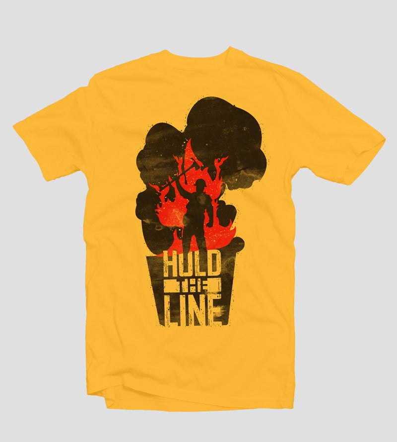 Image of Hold the Line (Original) - Batch 1 | Designed by Matt Andrews