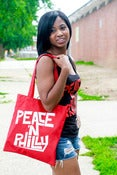 Image of Peace N Philly Tote Bag