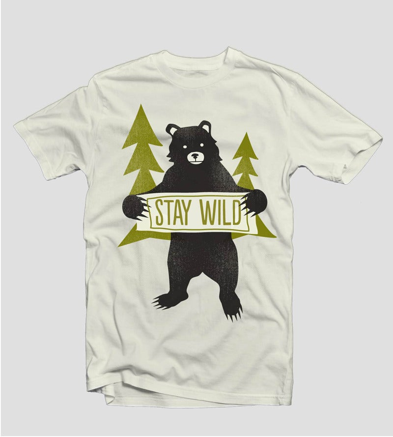 Image of Stay Wild - Batch 2 | Designed by Amy Sullivan
