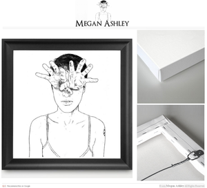 "Image of Megan Ashley Coffman | Limited ""Control Minds"" Print"