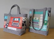 Image of PERFECT QUILTED TOTES pdf sewing pattern